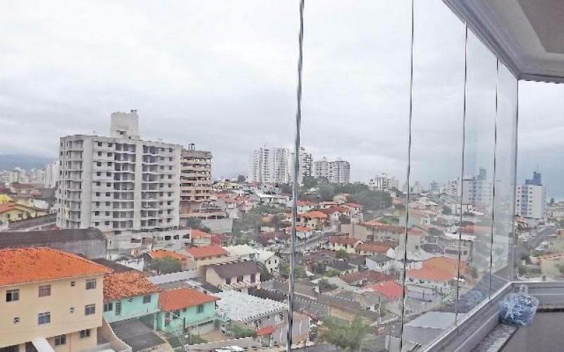 Golden Tower - Apto 2 Dorm, Barreiros, São José (AP867) - Foto 6