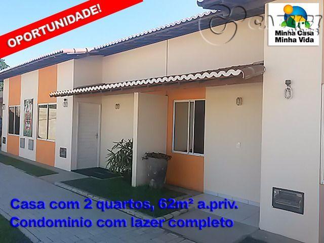 Residencial Pitanga - Casa 2 Quartos