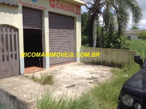 Casa 2 dormitórios e Salão comercial Balneário Luizamar Mirim Itanhaém SP
