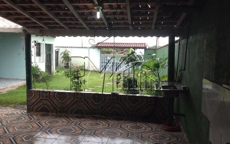 Casa 2 dormitórios sendo 1 suíte Tupi Itanhaém