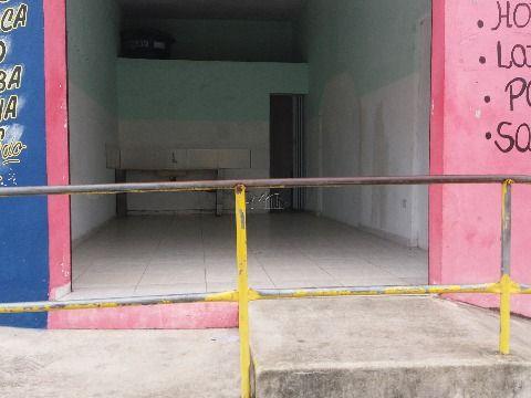 Salão Comercial de frente para avenida principal em Gaivotas Itanhaém