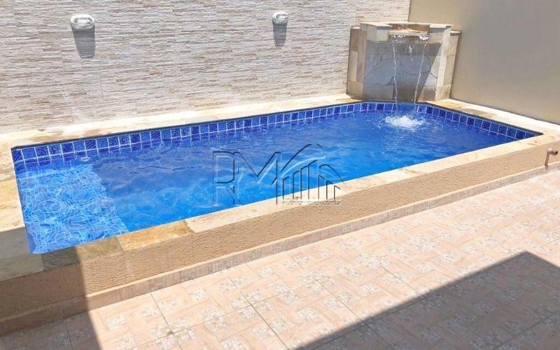 Casa com churrasqueira e piscina Cibratel Itanhaém
