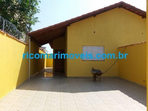 Casa nova de 2 dormitórios sendo 1 suíte Balneário São João Itanhaém