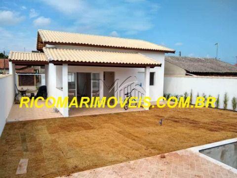 Casa Nova terreno 287m2 1 suíte piscina no Tupi em Itanhaém