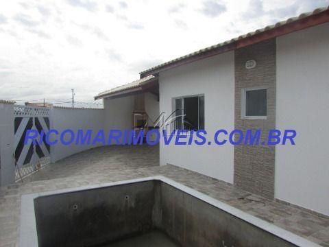 Casa nova 2 dormitórios com piscina Itanhaém SP