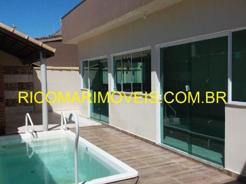 Casa 3 dormitórios sendo 1 suíte com piscina Gaivota Itanhaém
