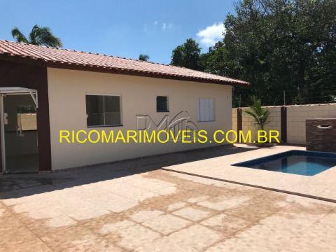 Casa 3 dormitórios sendo 1 suíte com piscina Jardim Palmeiras Itanhaém