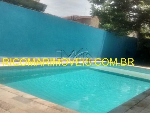 Casa 3 dormitórios com piscina Balneário Diplomata Itanhaém SP