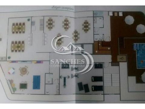 Apartamento Novo  2 dormitórios 2 suítes sacada gourmet em Praia Grande- Vila Caiçara