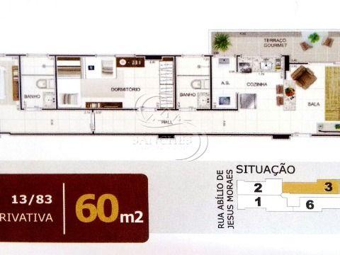 Apartamento de 2 dormitórios na Vila Caiçara - Praia Grande