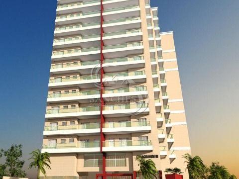 Apartamento Novo de 1 dormitório  na Vila Caiçara - Praia Grande