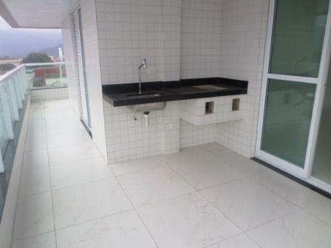 Apartamento Novo de 2 dormitórios sendo 1 suite  na Vila Caiçara - Praia Grande