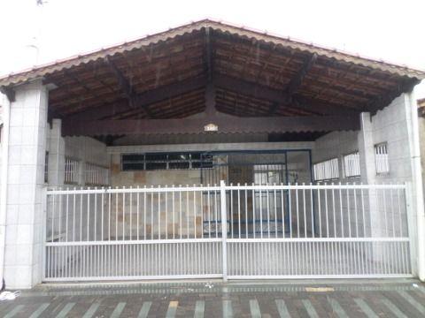 Linda Casa Isolada 2 dormitórios - Jardim Imperador = Praia Grande