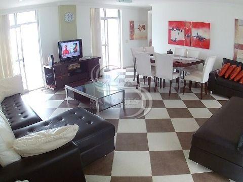 Cobertura 4 Dormitórios sendo 3 suítes em Praia Grande- Vila Caiçara