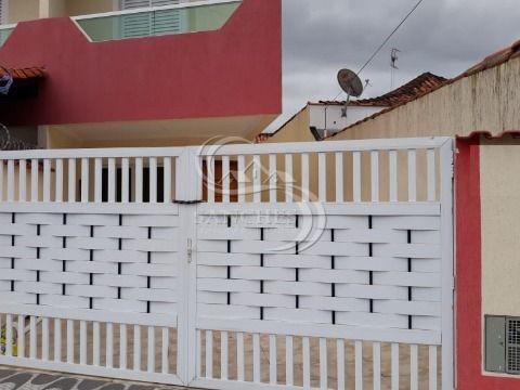 Sobrado Geminado 3 dormitórios sendo 1 suite em Praia Grande Vila Caiçara