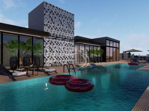 Lançamento 2 dormitórios 2 suítes terraço com churrasqueira