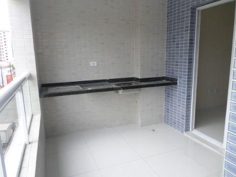Apartamento Novo 2 dormitórios 2 suíte em Praia Grande - Vila Caiçara