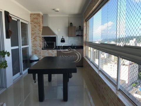 Apartamento 3 Dormitórios Sendo Suites  em Praia Grande - Vila Guilhermina