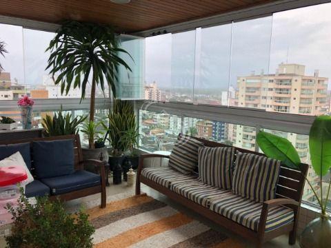 Apartamento 3 Dormitórios Sendo Suites  em Praia Grande - Vila Tupi