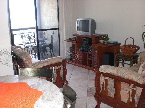 Apartamento 2 dormitórios com vista pro mar em Praia Grande - Vila Caiçara