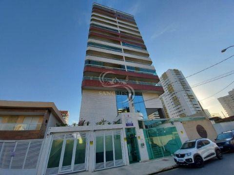Excelente apartamento na Guilhermina em Praia Grande, 3 dormitórios, sendo 1 suite