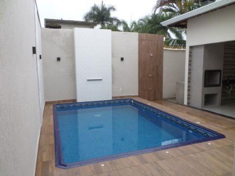 Casa 3 dormitórios 1 suíte  3 vaghas de garagem espaço Gourmet e piscina