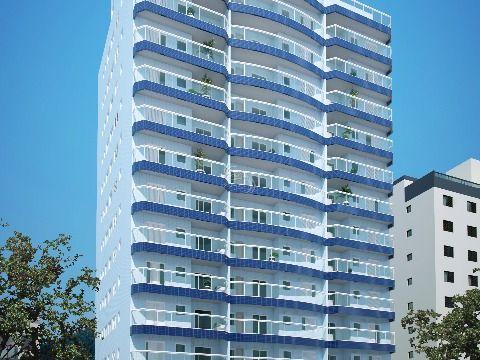 Apartamento de 1 dormitório  em Praia Grande - Vila Caiçara