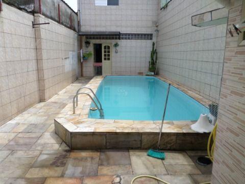 Linda Casa no Jardim Real Praia Grande  3 dormitórios Sendo 1 Suíte