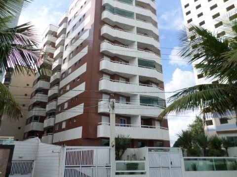 Apartamento de 1 dormitório - Prédio de Frente pro Mar - na Vila Mirim = Praia Grande