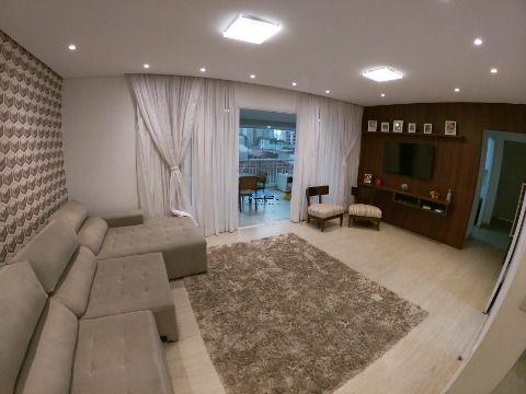 Apartamento para venda no bairro do Belém 146m² , 3 suítes, 3 vagas de garagem.