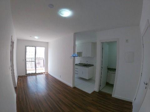 Apartamento novo para locação no bairro do Brás, 36m²,  1 suíte, 1 lavabo, 1 vaga de garagem.