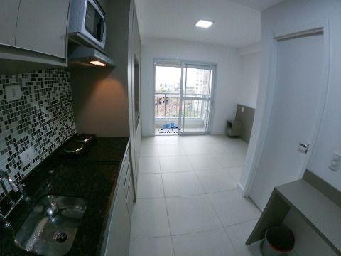 Studio mobilado para locação no bairro do Belém 26m².