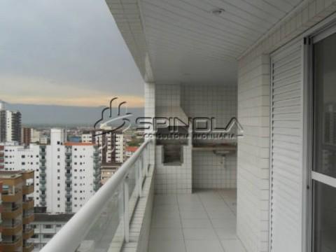 Apartamento de 3 dormitórios na Vila Guilhermina em Praia Grande