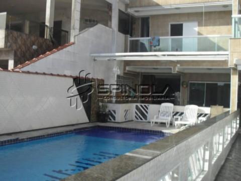Sobrado 6 dormitorios sendo 5 suites na vila  Mirim, Praia Grande