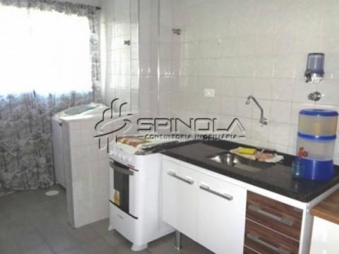 Apartamento de 1 dormitório à venda na Vila Guilhermina - Praia Grande