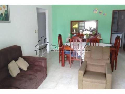 Casa sobreposta à venda com 3 dormitórios no Jardim Imperador - Praia Grande