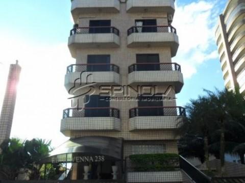 Apartamento em Praia Grande de 1 dormitório - Vila Tupi
