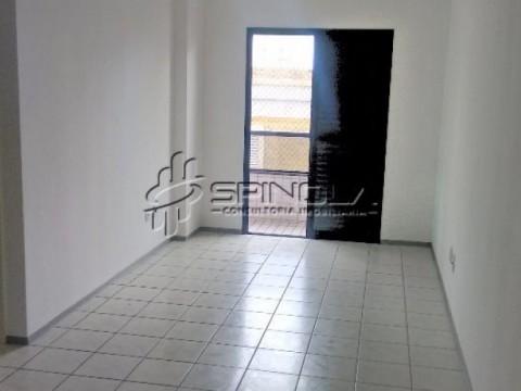 Apartamento de 1 dormitório com piscina na Vila Caiçara - Praia Grande