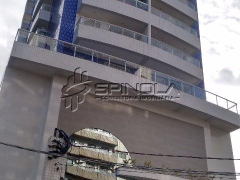 Apartamento em Praia Grande de 2 dormitórios com Varanda Gourmet - Vila Tupi