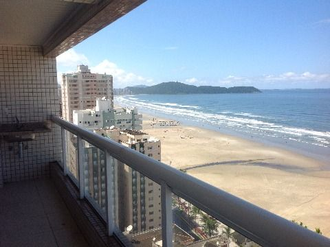 Apartamento 4 dormitórios com vista para o mar na Aviação em Praia Grande