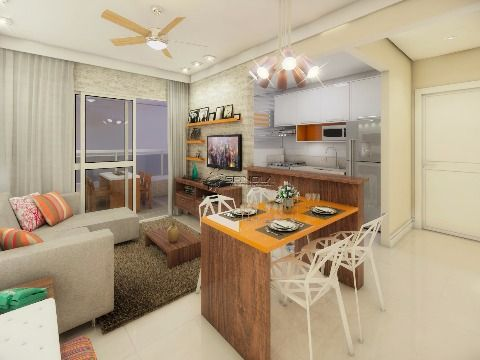 Lançamento de 2 dormitórios na Vila Guilhermina - Praia Grande