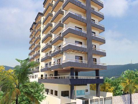 Apartamento de 2 dormitórios à venda no Boqueirão - Praia Grande