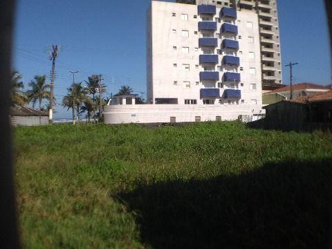 Terreno frente mar em Praia Grande no Jardim Real - 663 m² de área