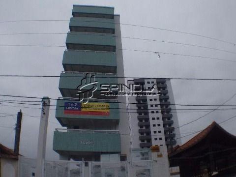 Apartamento à venda de 1 dormitório no Campo da Aviação - Praia Grande