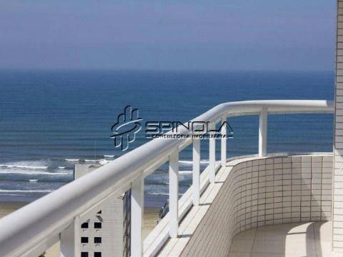 Apartamento 2 dormitórios com varanda gourmet na Vila Tupi - Praia Grande