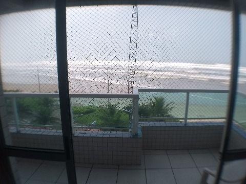 Apartamento frente mar de 2 dormitórios com suíte em Praia Grande na Vila Caiçara Alto Padrão!