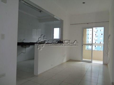 Apartamento Canto do Forte com 2 dormitórios Praia Grande
