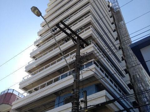 Apartamento em Praia Grande de 1 dormitório com suíte altíssimo padrão no Canto do Forte