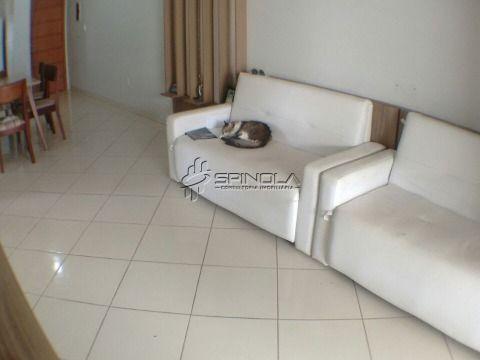 Apartamento de 2 dormitórios com suíte e Varanda Gourmet em Praia Grande no Campo da Aviação