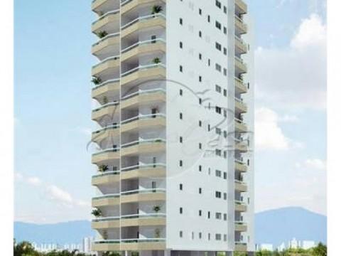 Apartamento 3 dormitórios - Solemar, Praia Grande